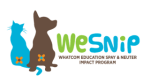 WeSNiP {Whatcom County, Spay & Neuter Impact Program}